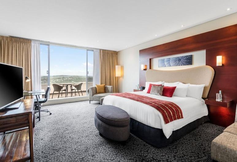 Crowne Plaza Auckland, אוקלנד, סוויטת אקזקיוטיב, מיטת קינג, ללא עישון, חדר אורחים