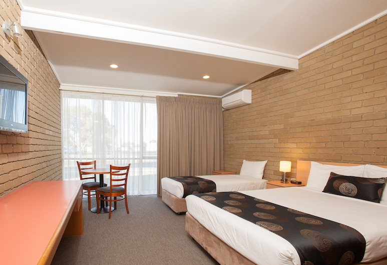 Mitchell on Main Motel & Apartments, Bairnsdale, Twin Room, Guest Room