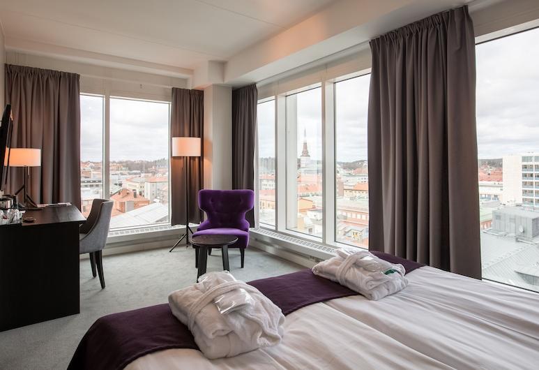 Best Western Plus Hotel Plaza, Vasteras, Superior-herbergi með tvíbreiðu rúmi, Herbergi