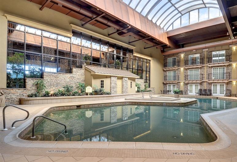 Eden Resort and Suites, BW Premier Collection, Lancaster, Habitación estándar, 2 camas Queen size, refrigerador, junto a la piscina (Oversized Room), Vista de la habitación