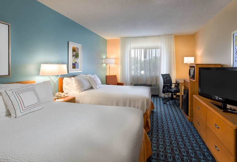 Fairfield Inn Pensacola, Pensacola, Standarta numurs, 2 divguļamās gultas, Viesu numurs