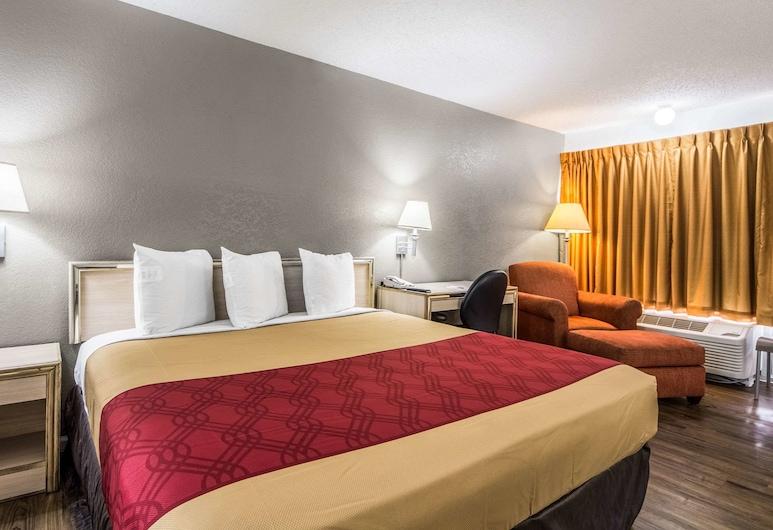Econo Lodge Dallas Airport North, Farmers Branch, Quarto Standard, 1 cama king-size, Fumadores, Quarto