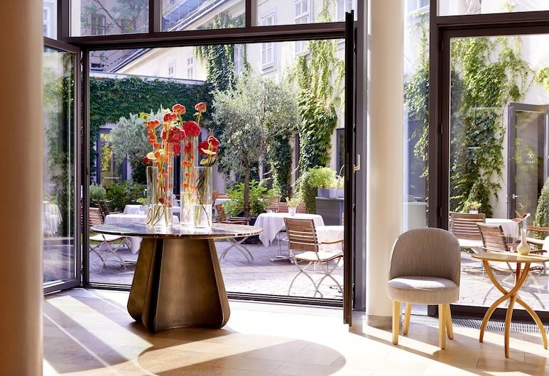 Hotel Das Triest, Viena, Sala de Estar do Lobby