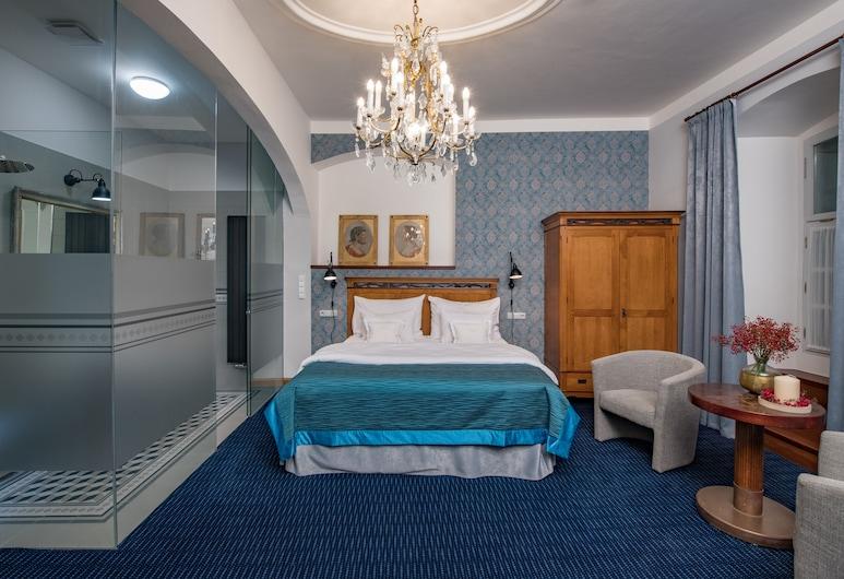 Hotel Casa Marcello, Praha, Dobbeltrom, Gjesterom