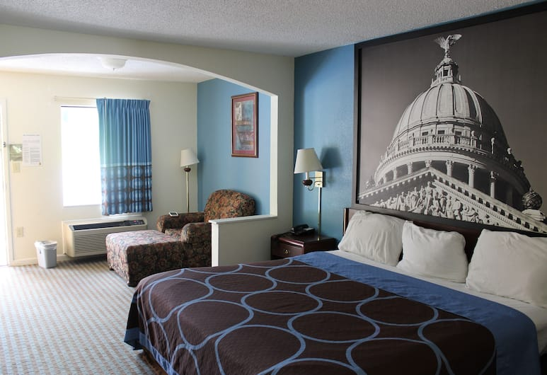 Howard Johnson by Wyndham Vicksburg, Vicksburg, Standard Room, 1 Katil Raja (King), Accessible, Bilik Tamu