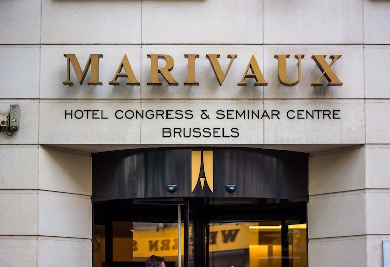 Marivaux Hotel, Bruxelles, Pročelje hotela