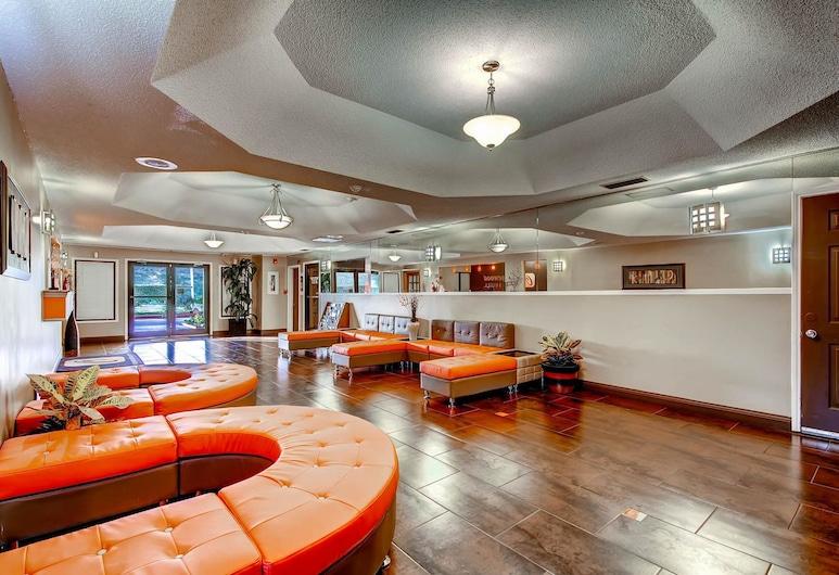Orangewood Inn & Suites Midtown, Austin, Siddeområde i lobby