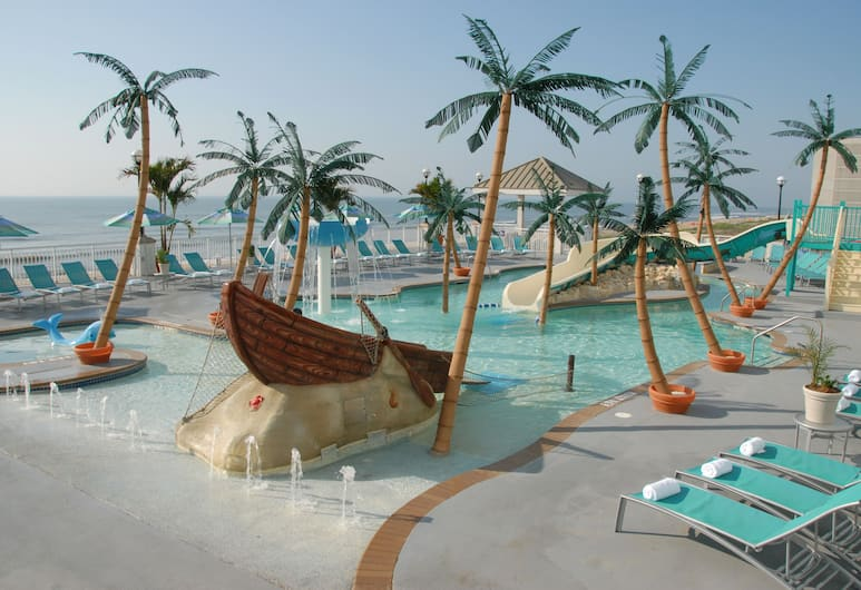 Hilton Ocean City Oceanfront Suites, Ocean City, Teras/Veranda