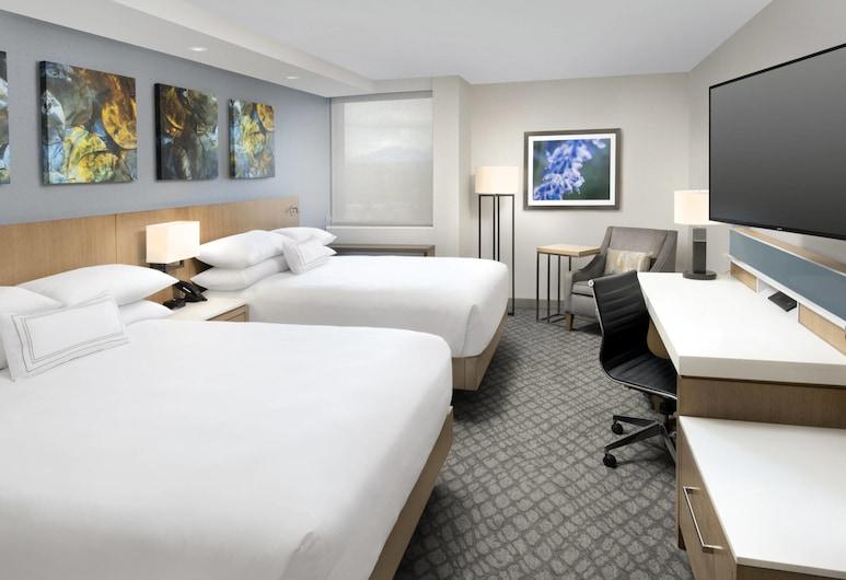 Delta Hotels by Marriott Seattle Everett, Everett, Rom, 2 queensize-senger, ikke-røyk, Gjesterom