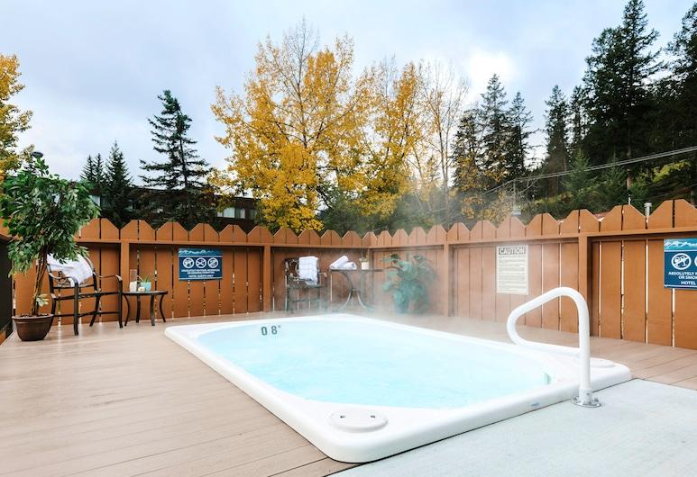 Lobstick Lodge, Jasper, Bathtub Spa Luar Ruangan