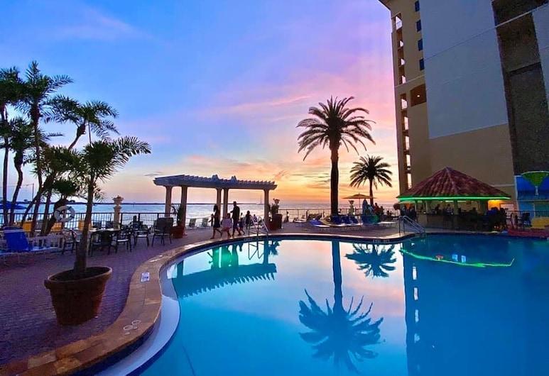 Holiday Inn Hotel & Suites Clearwater Beach, an IHG Hotel, Παραλία του Κλιαργουότερ, Εξωτερικός χώρος