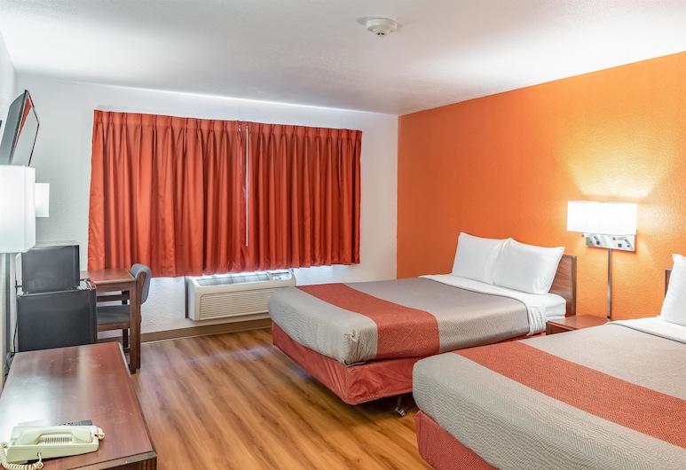 Motel 6 Fond Du Lac, WI, Fondulaka, Paaugstināta komforta numurs, 2 divguļamās gultas, nesmēķētājiem, ledusskapis un mikroviļņu krāsns, Viesu numurs
