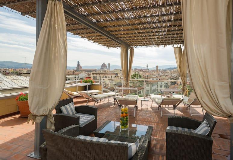 Hotel Kraft, Florence, Terrace/Patio