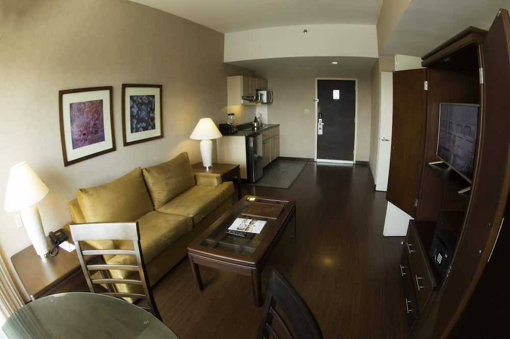 套房, 2 張標準雙人床, 非吸煙房 - 客廳