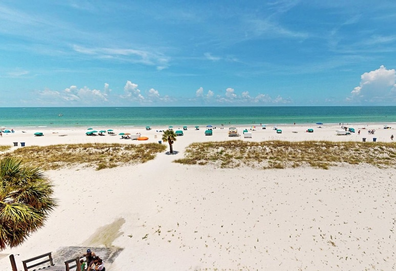 Island Inn Beach Resort, Isola del Tesoro, Camera Basic, 2 letti matrimoniali (Gulf View/410), Balcone