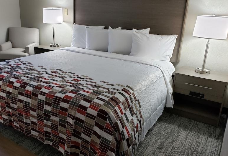 Red Roof Inn & Suites Vicksburg, Vicksburg, Quarto Superior, 1 cama king-size, Não-fumadores, Quarto