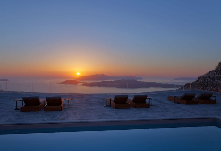 Vedema, a Luxury Collection Resort, Santorini, Santorini, Villa, 5 soverom (Nafsika Estate), Terrasse/veranda