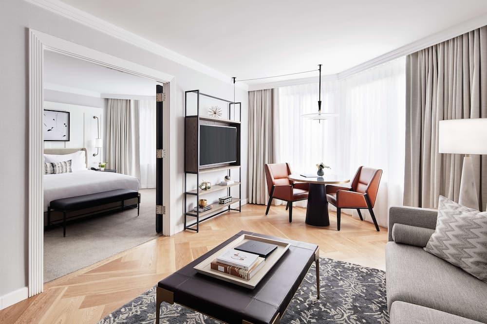Suite, 2 habitaciones, vista a la ciudad (London, 1 King and 1 Queen) - Imagen destacada