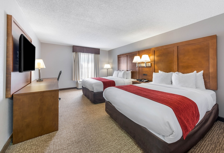 Comfort Inn Grove City, Grove City, Room, 2 Queen Beds, Accessible, Non Smoking (Efficiency), Guest Room