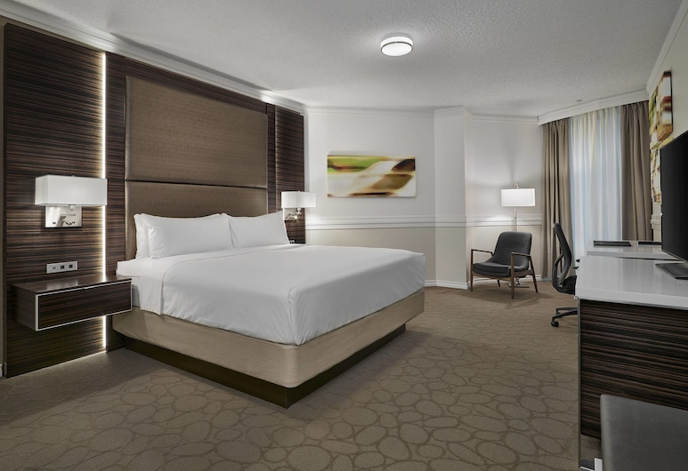Delta Hotels by Marriott Edmonton Centre Suites, Edmonton, Kamar, 1 Tempat Tidur King, non-smoking, Kamar Tamu