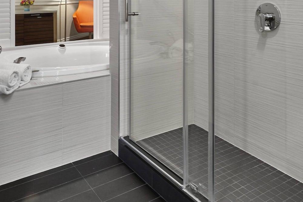 Værelse - 1 kingsize-seng - ikke-ryger - Badeværelse
