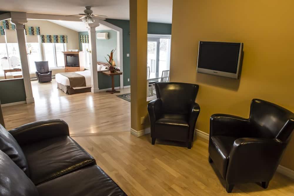 樓中樓客房, 2 張加大雙人床 - 客廳