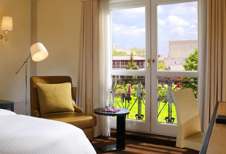 The Westin Grand, Berlin, Berlin, Deluxe-Zimmer, 1 Queen-Bett, Nichtraucher, Blick auf die Stadt
