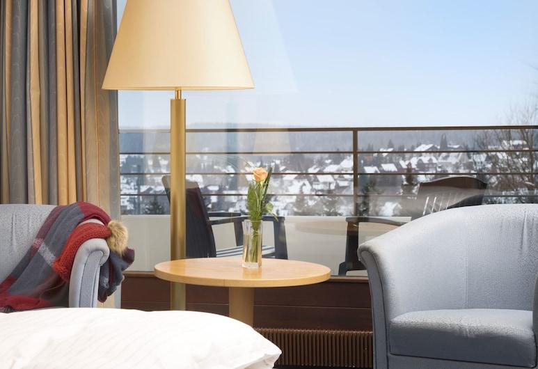 Maritim Berghotel Braunlage, Браунлаге, Улучшенный одноместный номер, Зона гостиной