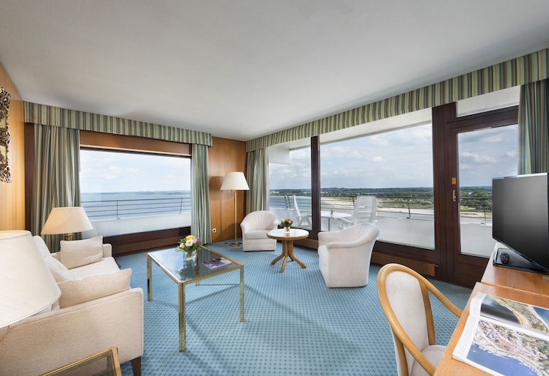 Maritim Strandhotel Travemünde, Lübeck, Suite, Zona de estar