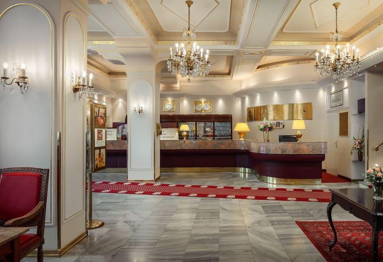 TOP Hotel Ambassador-Zlata Husa, Prag, Rezeption