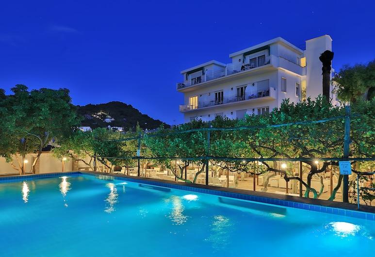 Hotel Syrene, Capri, Piscina