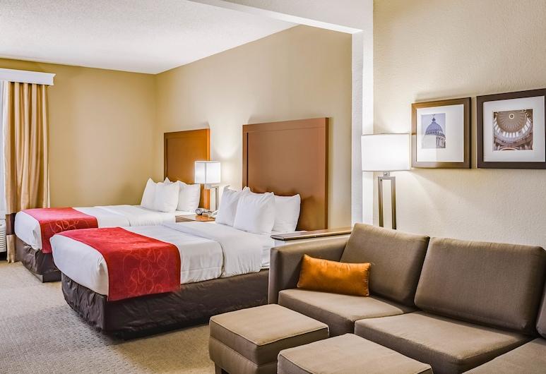 Comfort Suites Hattiesburg, Hattiesburg, Quarto Duplo Standard, 2 camas de casal, Não-fumadores, Quarto
