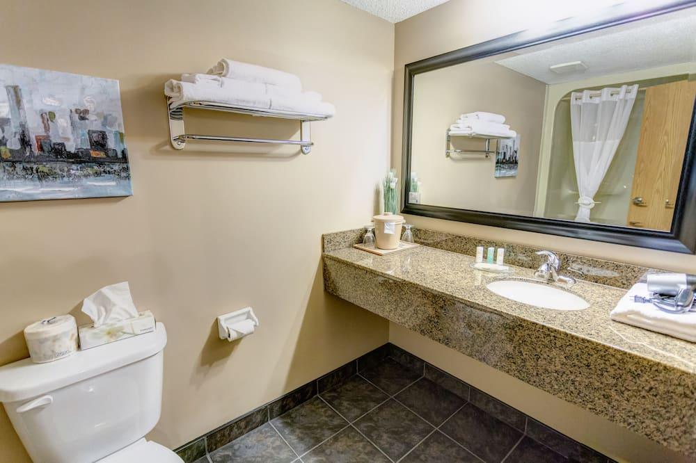 ห้องบิสซิเนส, เตียงคิงไซส์ 1 เตียง - ห้องน้ำ