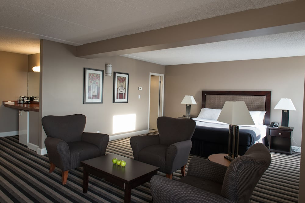 Suite, 1 King Bed, Non Smoking - Living Area