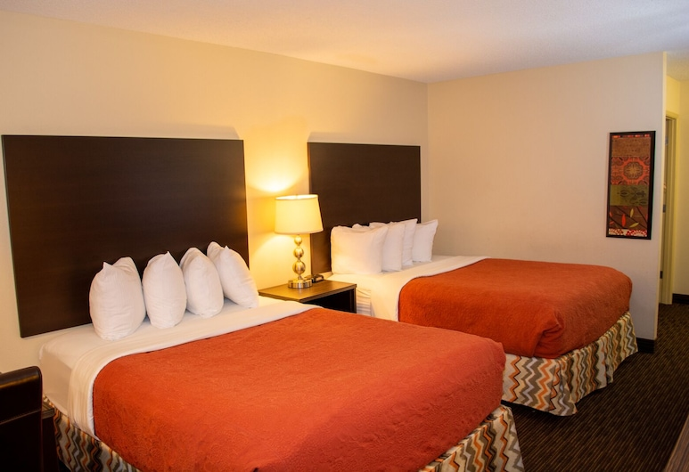 Cimarron Inn Klamath Falls, קלמאת' פולז, Value Double Queen Room, חדר אורחים