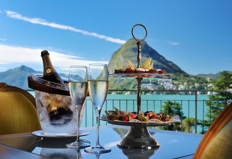 Grand Hotel Villa Castagnola, Lugano, Suite, Balkon