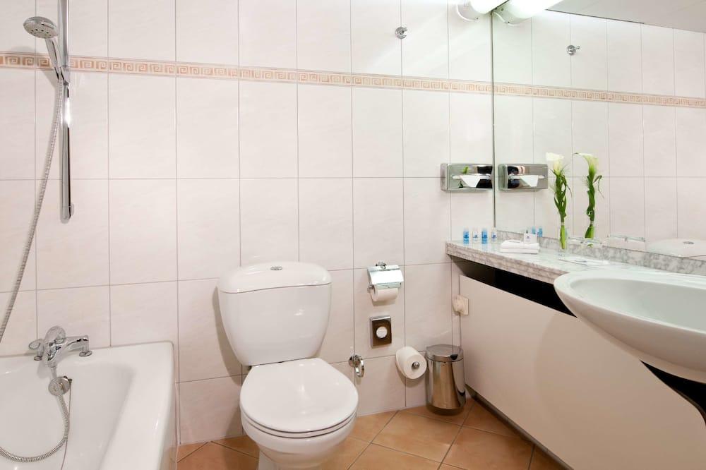 舒適單人房 - 浴室