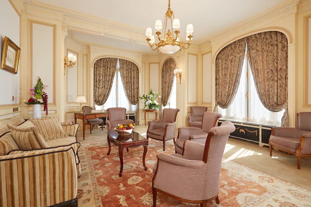 Prezidentské apartmá - Obývací pokoj