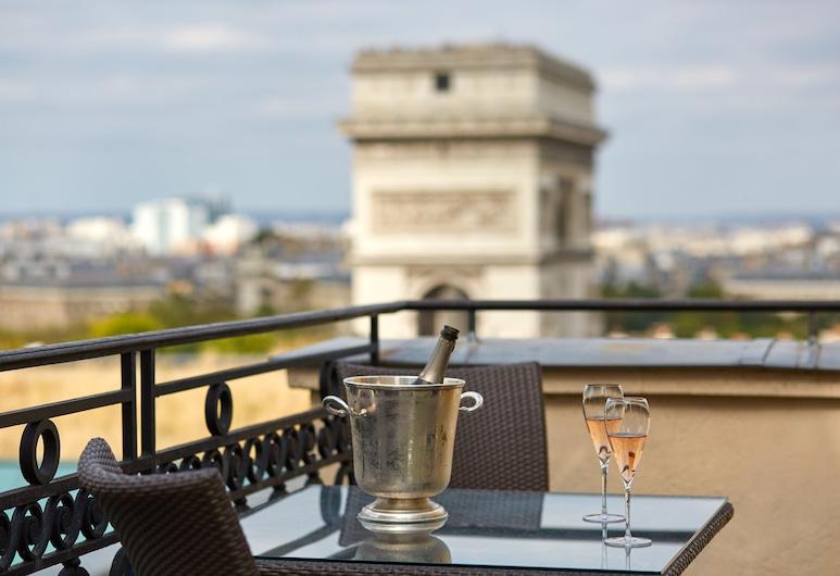 Hotel Raphael, Paris, Suite Duplex, Bilik Tamu