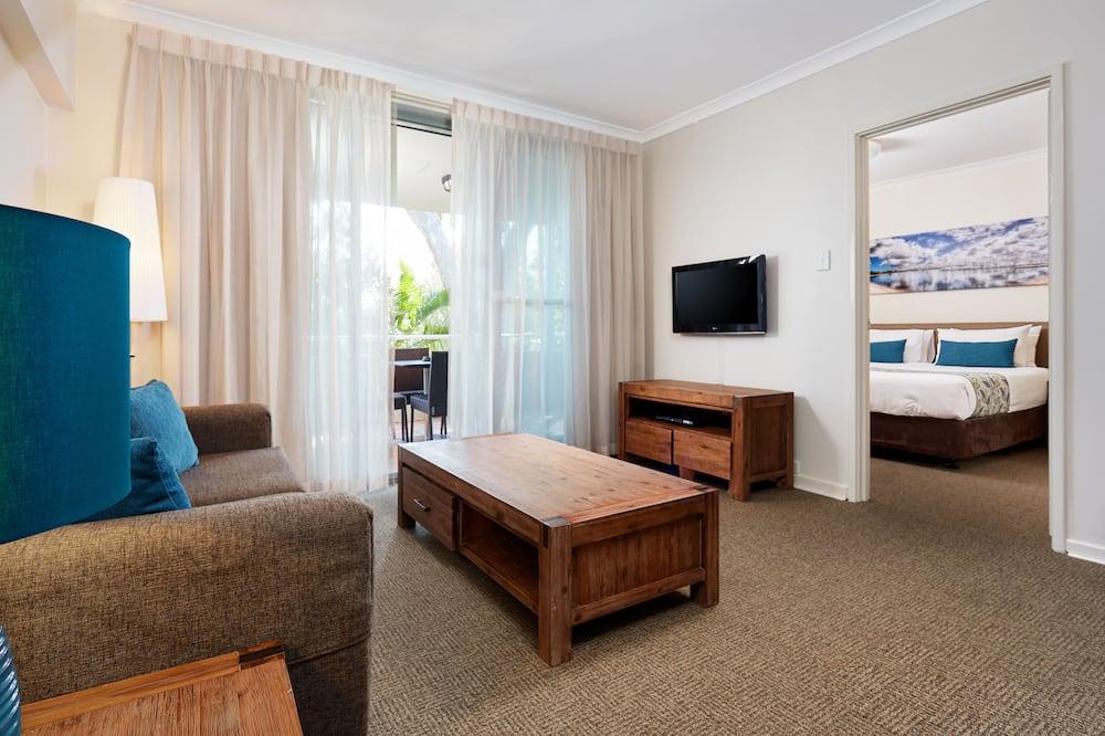 Апартаменты, 1 спальня (Early Bird ) - Зона гостиной