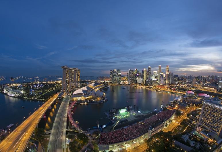 The Ritz-Carlton, Millenia Singapore (SG Clean), Singapore, Grand kamer, 1 kingsize bed, niet-roken, Uitzicht op de baai, Uitzicht vanaf kamer