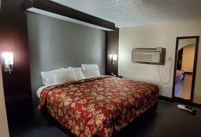 Rodeway Inn & Suites Houston Medical Center, Houston, Standard Room, 1 King Bed, Non Smoking, Guest Room