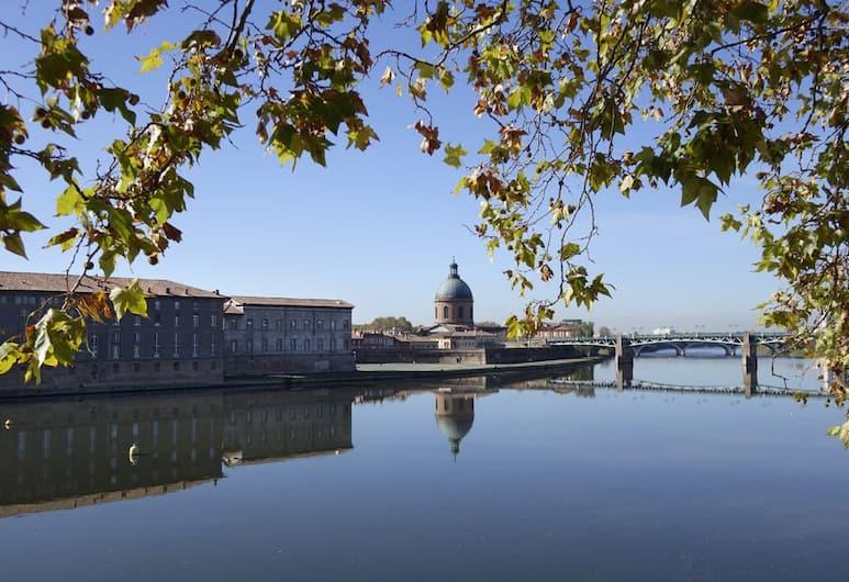 Hôtel des Beaux Arts, Toulouse, Išorė