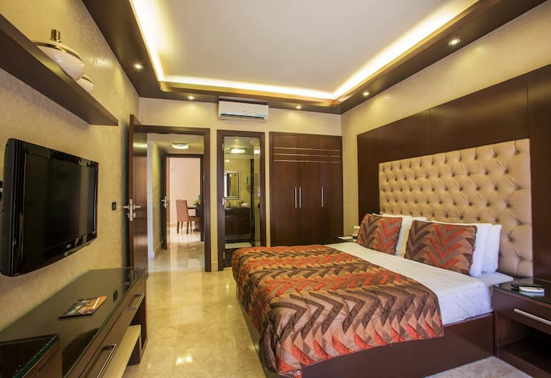 Imperial Suites Hotel, Beirut, Executive Suite, 1 King Bed, City View, Guest Room