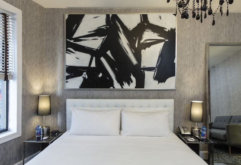 Amsterdam Court Hotel, New York, Deluxe kamer, 1 kingsize bed, Kamer