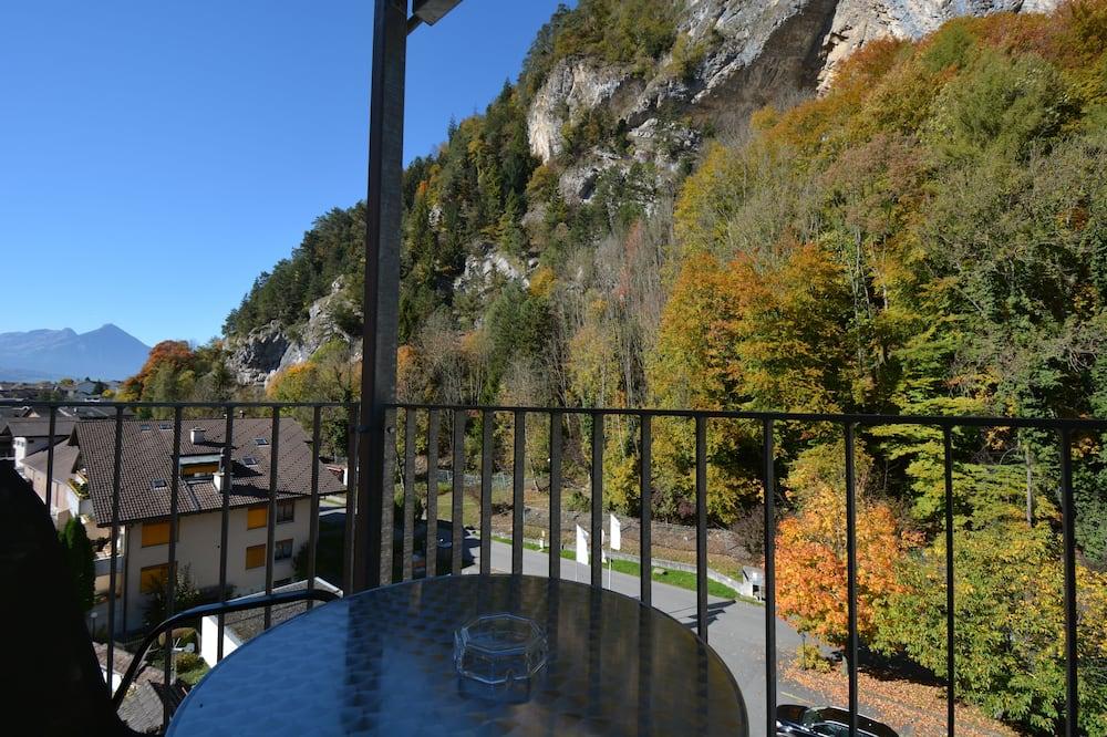 Leilighet – standard, 1 soverom, tekjøkken, ved fjell (211) - Balkong