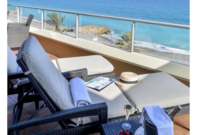 Radisson Blu Hotel, Nice, Nice, Suite, Terraço, Vista Mar, Quarto