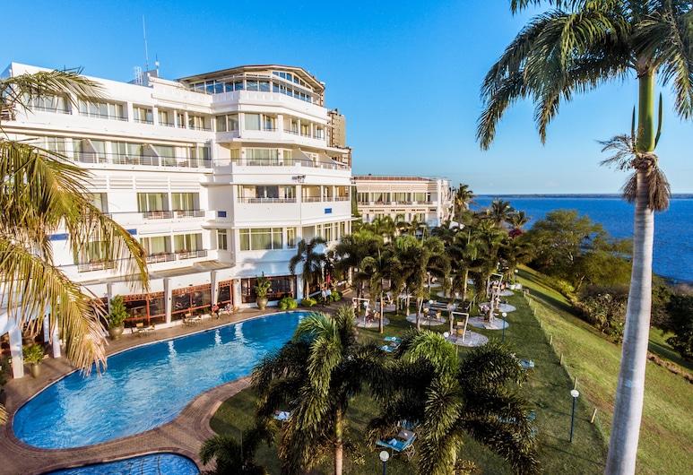 Cardoso Hotel, Мапуто, Вигляд з висоти пташиного польоту