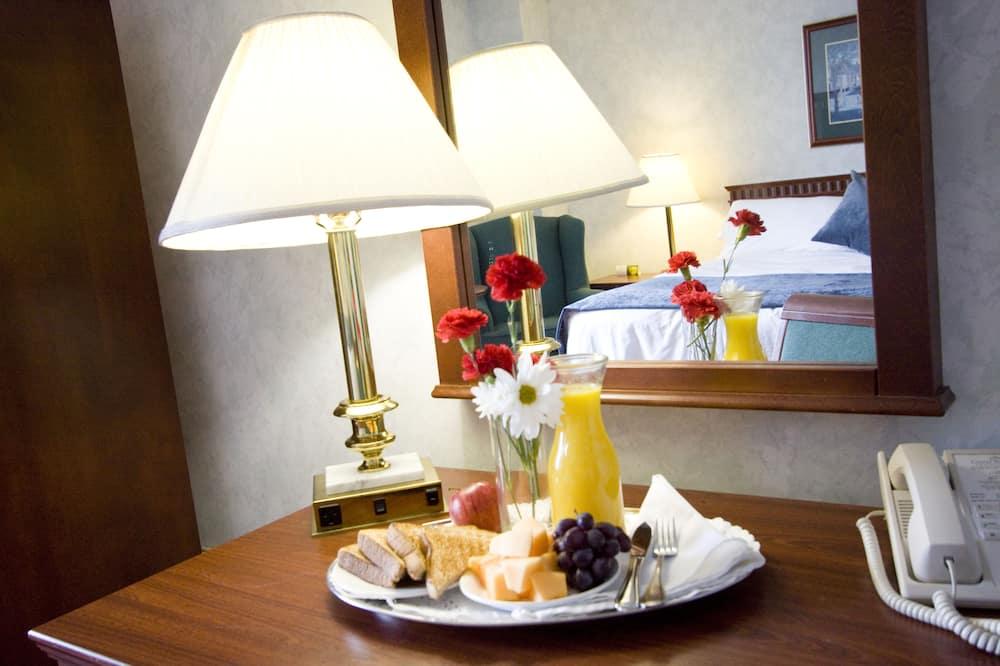 ห้องสแตนดาร์ด, เตียงใหญ่ 2 เตียง - บริการอาหารในห้องพัก