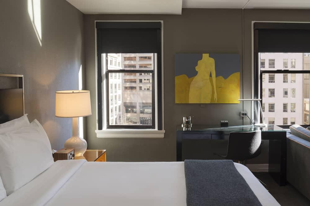 Estudio, 1 cama King size ( Max ) - Vista a la ciudad